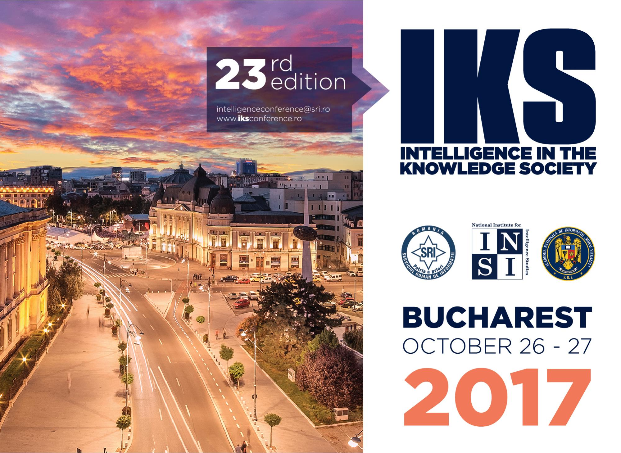 Intelligence Conference in Bucharest
